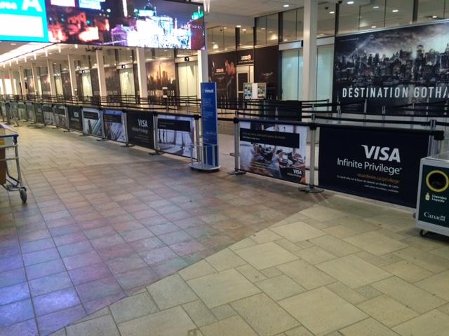 11 Montreal Airport - Visa
