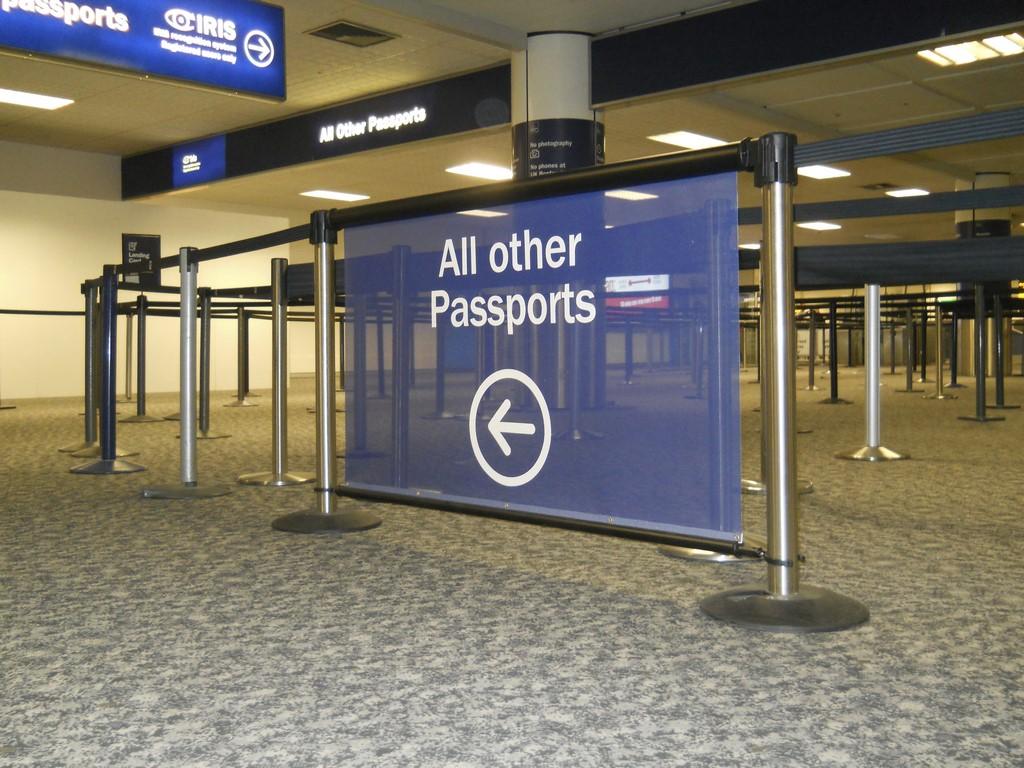 6 Gatwick Airport Passport Control